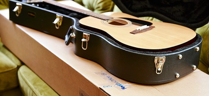 How to pack guitars for international shipping